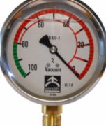 Vacuum gauge of Aerolift for vacuum lifters