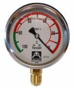 Aerolift vacuum gauge for vacuum lifters