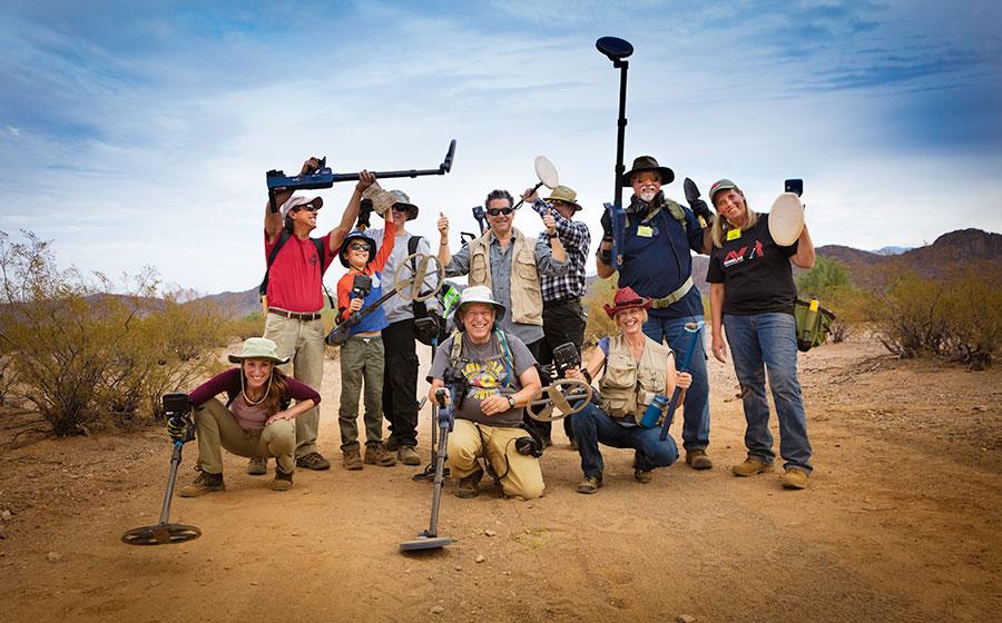 Meteorite Hunting Adventures January 2018