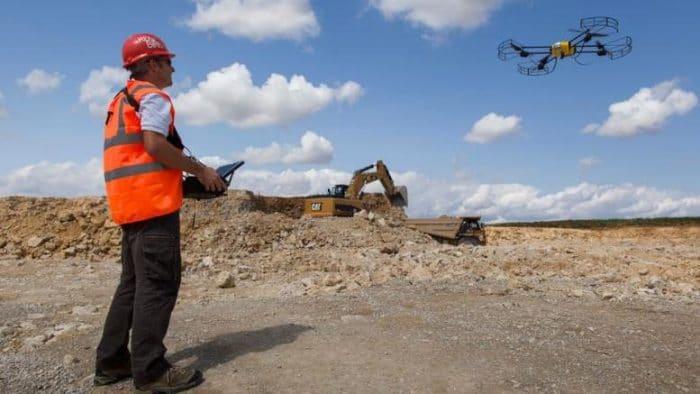 drone camera tour de france