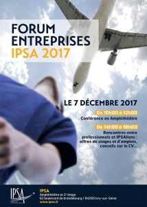 Forum entreprises IPSA 2017 @ IPSA Paris | Ivry-sur-Seine | Île-de-France | France