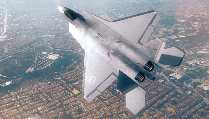 Turkish fighter will be displayed at paris airshow for the first time