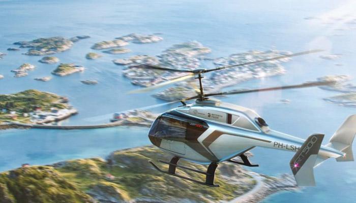 L'hélicoptère VRT-500 sera équipé du système de conditionnement d'air Liebherr