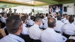 Florence Parly acte la création du Commandement de l'espace au sein de l'Armée de l'air