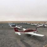 L'avion est un moyen de transport rapide pour gens peu pressés