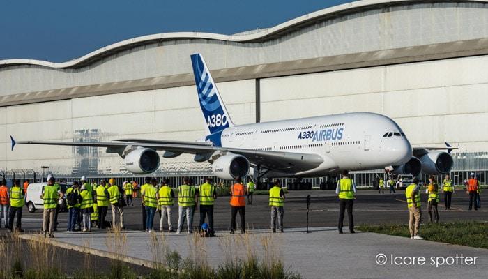 Le musée Aéroscopia développe le tarmac nord et y accueille 5 nouveaux appareils, dont un A380