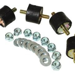 Fire Pump Wiring Diagram Light Switch 1 Way Ss Fuel 3 8 Npt Aeromotive Inc Vibration Dampener Mounting Kit