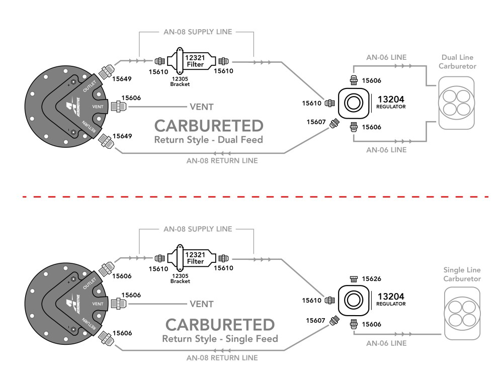 medium resolution of carbureted phantom 340 kit