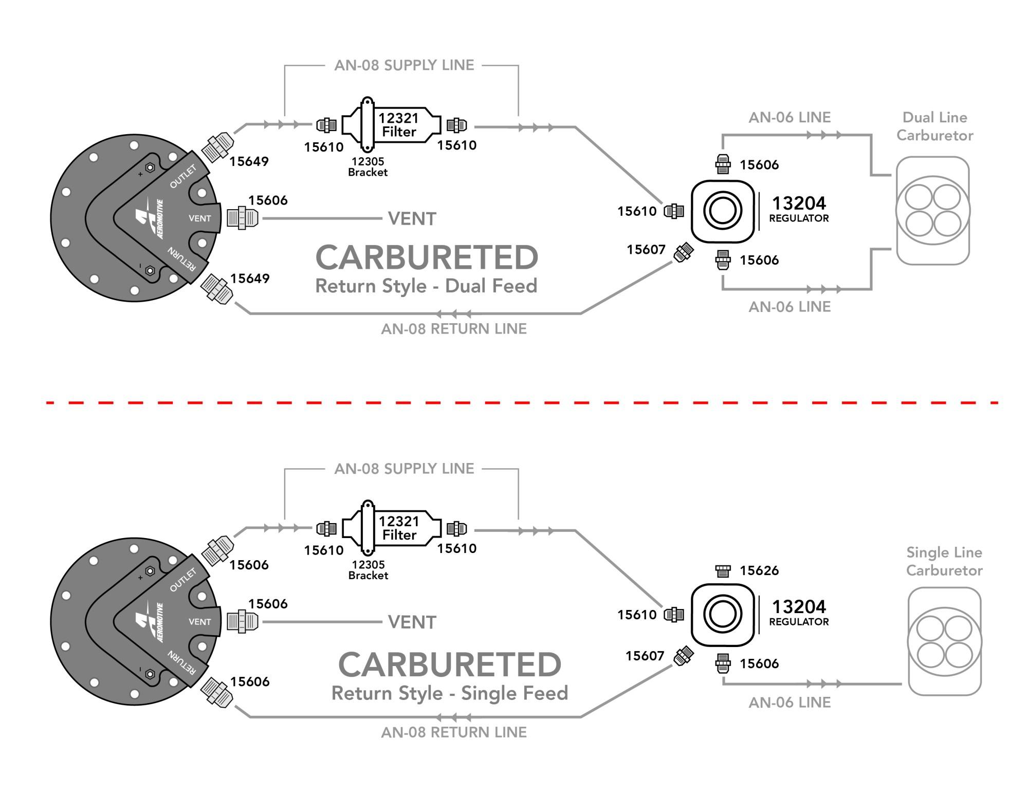 hight resolution of carbureted phantom 340 kit