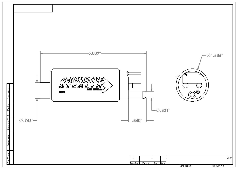 340 Fuel Pump Gm Aeromotive Inc
