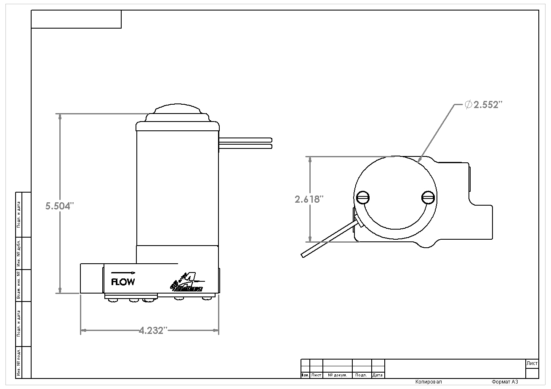 hight resolution of ss fuel pump 3 8 npt