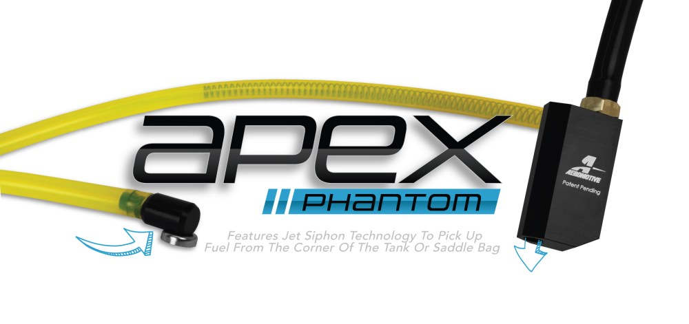 medium resolution of the new apex phantom aeromotive trifektaphantom