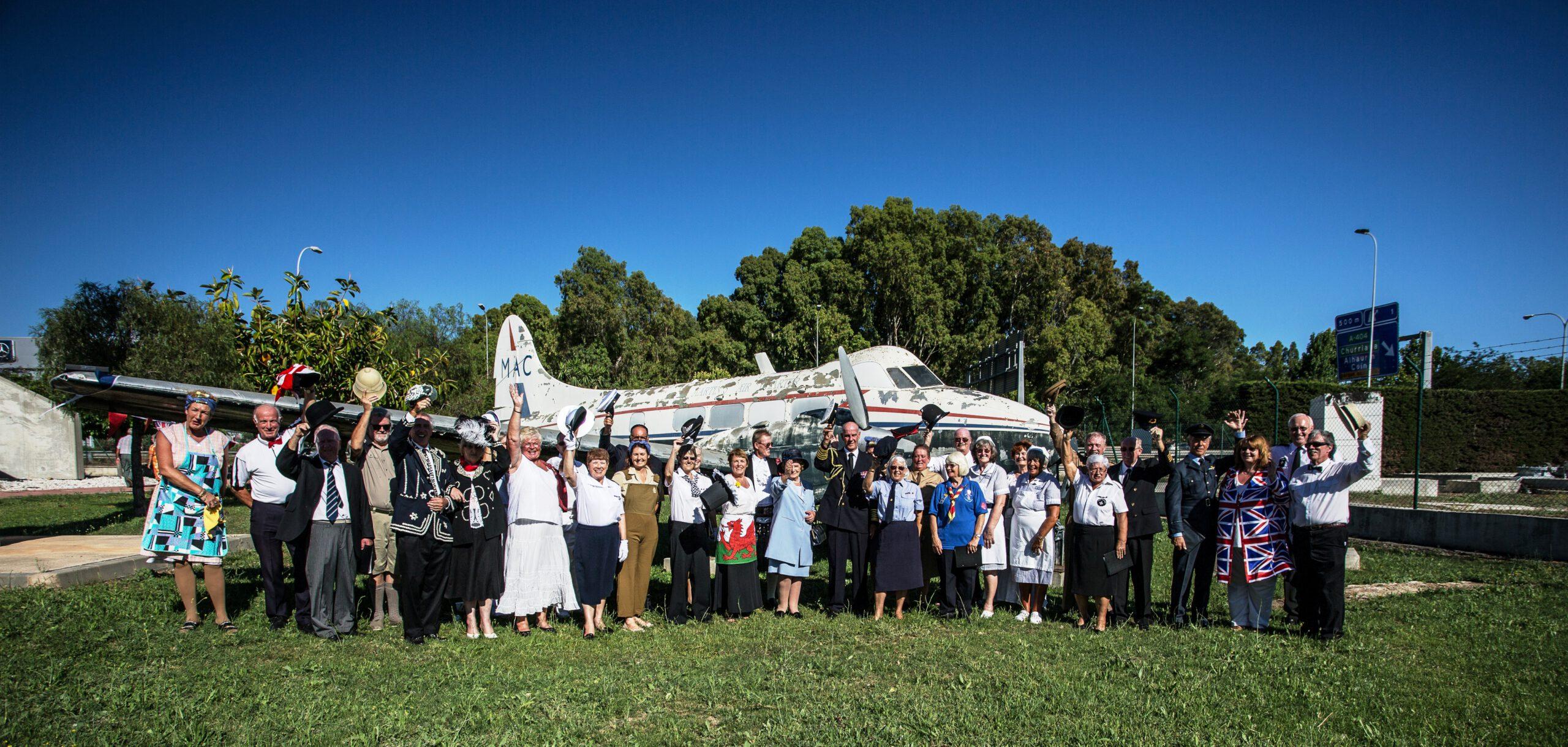 Apoyo de colonia británica al De Havilland Dove