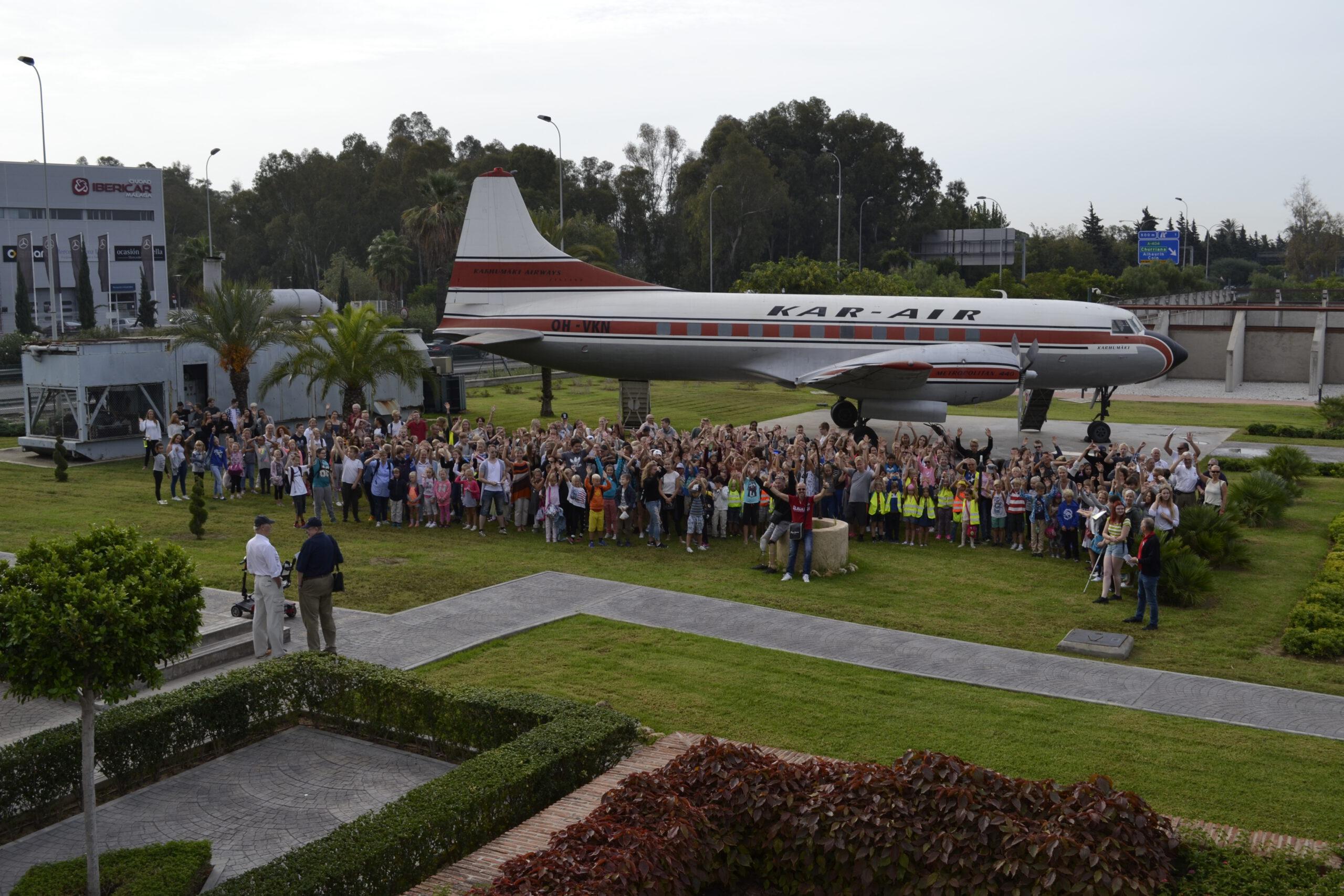 Visitantes al Museo Aeroplaza
