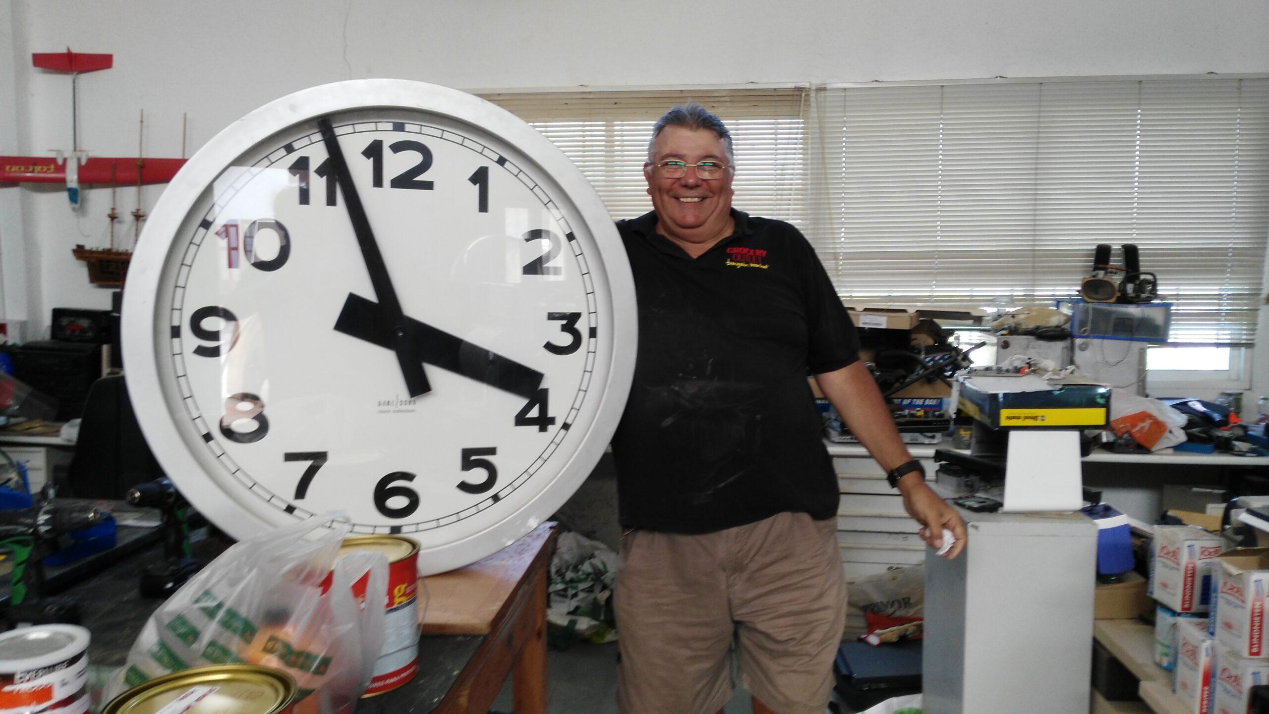 Poniendo en hora el reloj de la Terminal