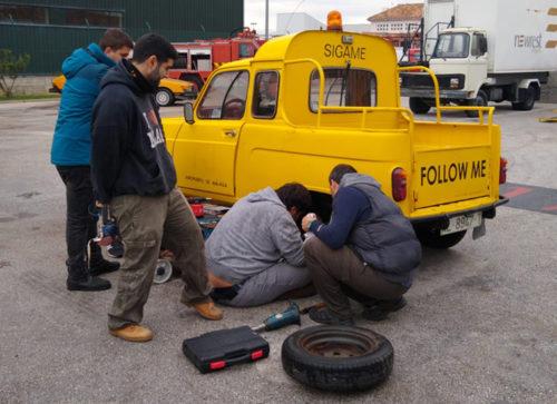 Mantenimiento Renault 4 de señaleros
