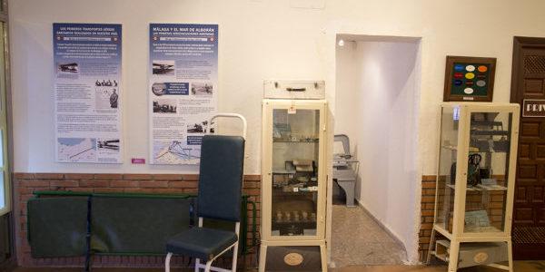 Detalle expo Medicina en interior Terminal Histórica