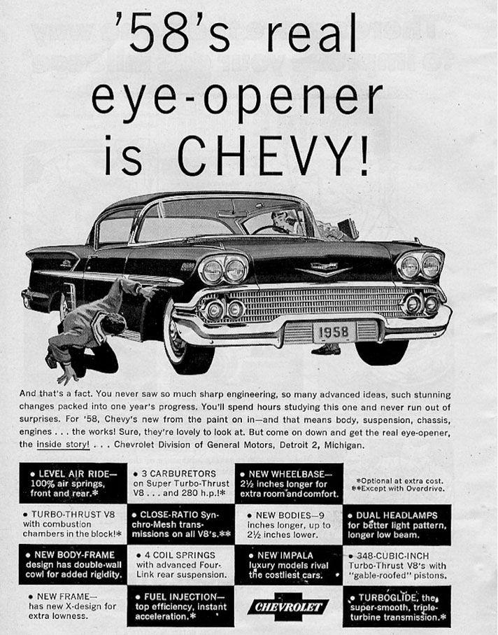 Chevrolet Impala Coupe 1958