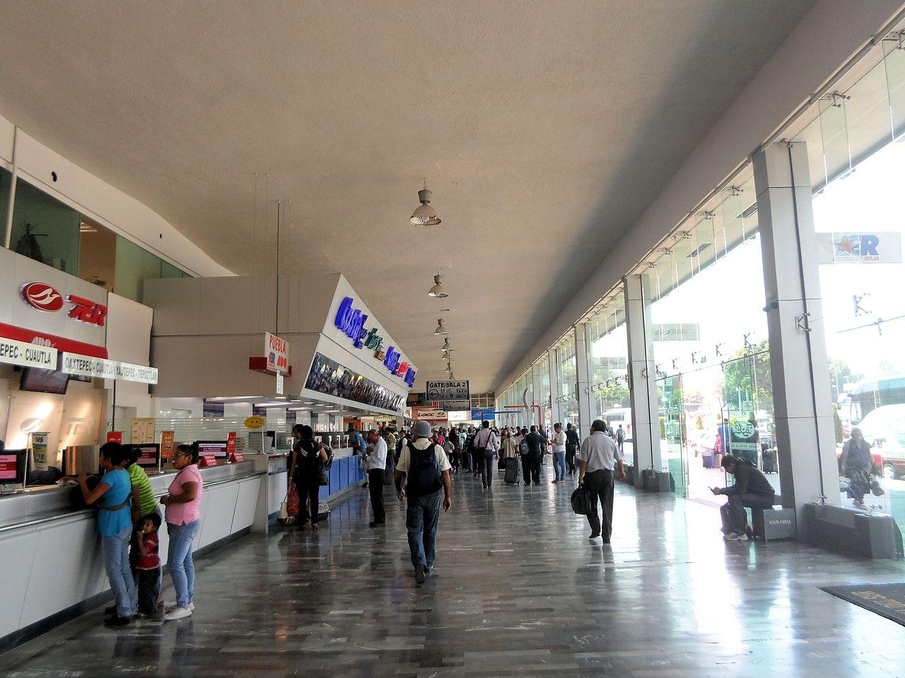 Autobuses  Aeropuerto Internacional de la Ciudad de