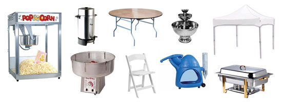 plastic chair covers party city stool design rental and supplies in iowa ia rentals
