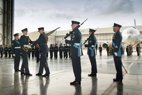 © Paul Crouch/Crown Copyright • 216 Squadron Disbandment Parade • RAF Brize Norton, Oxfordshire