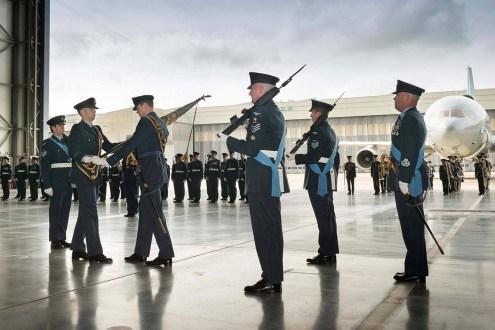 © Paul Crouch/Crown Copyright • 216 Squadron Disbandment Parade • RAF Brize Norton, Oxfordshire