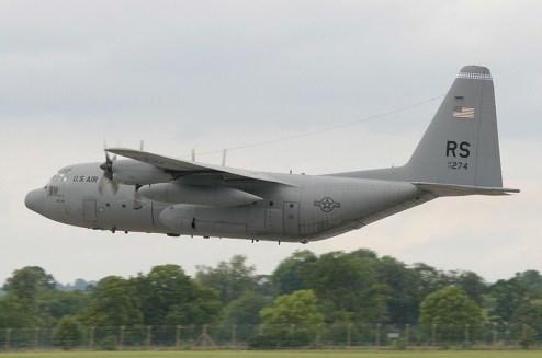 © Michael Freer - Lockheed C-130E Hercules • United States Air Force • Royal International Air Tattoo 2007