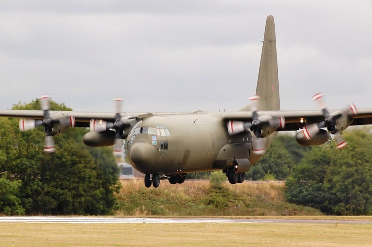 © Steve Smith - Royal Air Force • Lockheed C-130K • RAF Cosford
