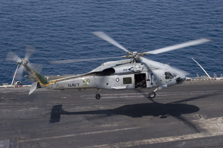© Anthony Osborne - Sikorsky SH-60F Seahawk • United States Navy • USS Enterprise