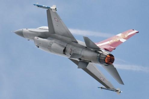 © Michael Buckle - Fokker F-16AM Fighting Falcon • Royal Danish Air Force • Royal International Air Tattoo 2011