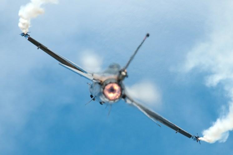 © Michael Buckle - TUSAS F-16CG Night Falcon • Turkish Air Force • Royal International Air Tattoo 2011