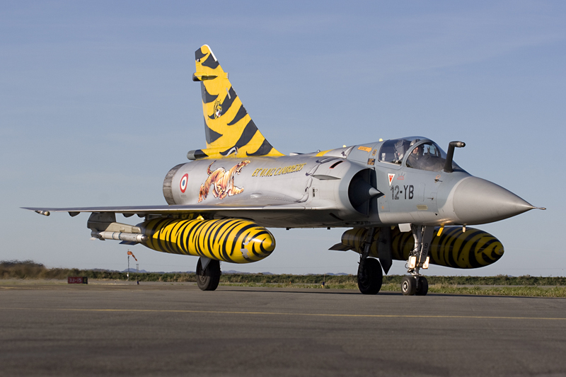 © Anthony Osborne - Dassault Mirage 2000 • French Air Force • Tiger Meet 2007