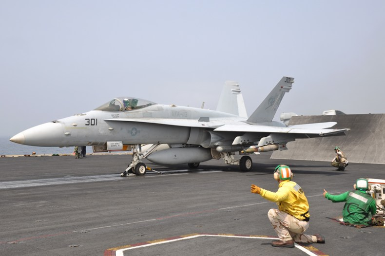 © Duncan Monk - Boeing F/A-18C Hornet • United States Navy • USS Ronald Reagan CVW-14