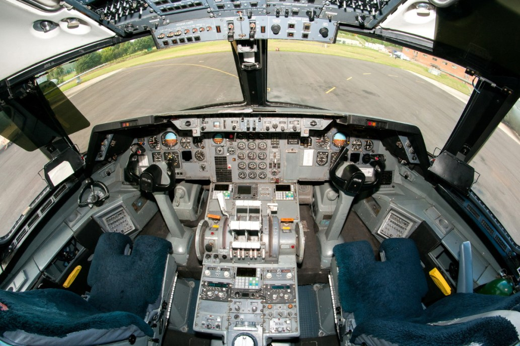 © Michael Buckle • Royal Air Force L-1011 Tristar Cockpit • RAF Brize Norton, Oxfordshire
