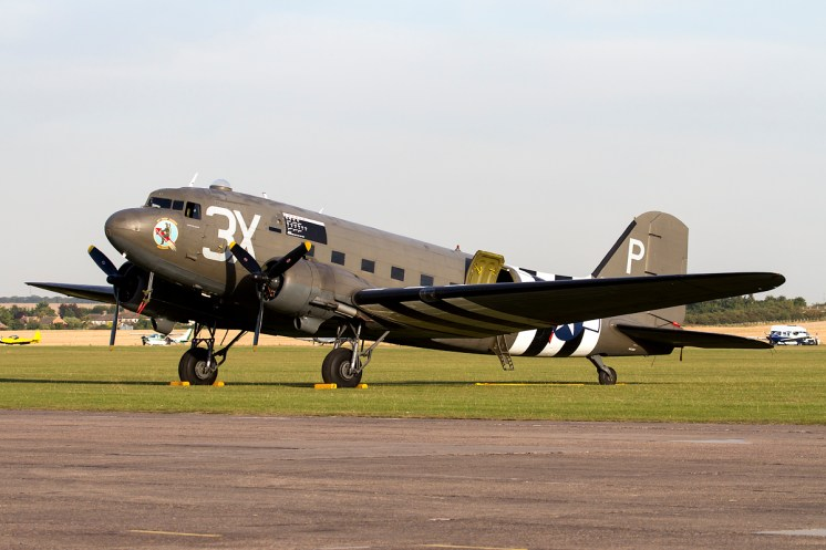© Adam Duffield • Duxford Air Show 2012 • Duxford Airfield, UK • C-47A Dakota - N473DC