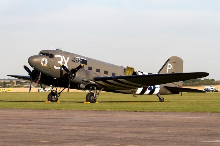 © Adam Duffield • Duxford Air Show 2012 • Duxford Airfield, UK • C-47A Dakota - N473DC