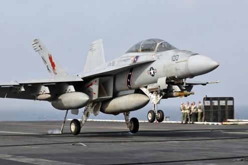 © Duncan Monk - Boeing F/A-18F Super Hornet • United States Navy • USS Ronald Reagan CVW-14