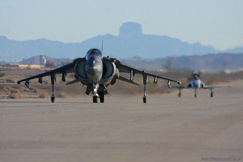 © Mark Forest - United States Marine Corps • AV-8B Harrier • Marine Corps Air Station Yuma, Arizona