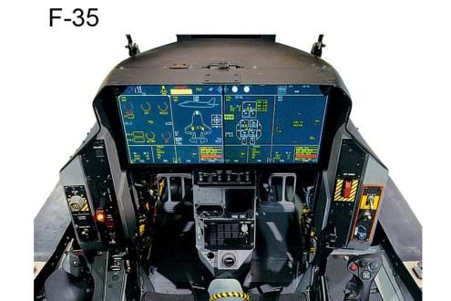 © Lockheed Martin - Released • Lockheed Martin J-35 Cockpit