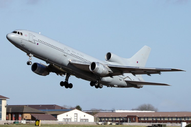 © Mark Kwiatkowski • Royal Air Force L-1011 Tristar (ZE705) • RAF Brize Norton, Oxfordshire