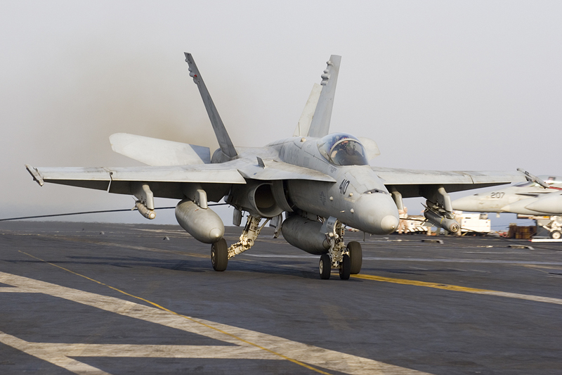 © Anthony Osborne - Boeing F/A-18C Hornet • United States Navy • USS Enterprise