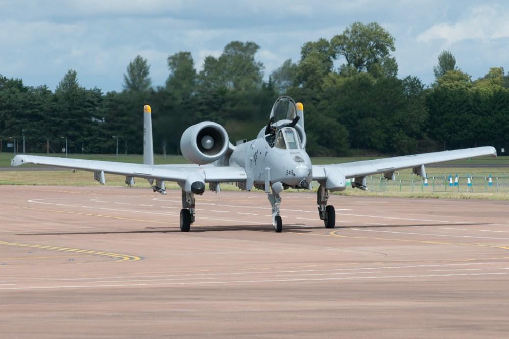 © Michael Buckle - Fairchild A-10C Thunderbolt II • United States Air Force • Royal International Air Tattoo 2011