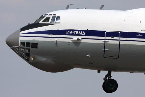 © Ben Montgomery - Ilyushin Il-76 Candid • Ukrainian Air Force • Royal International Air Tattoo 2011