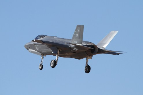 © Mark Forest • Lockheed Martin F-35A Delivery Flight • Luke AFB