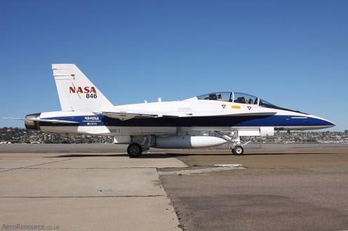 © Jason Grant - NASA • McDonnell Douglas F/A-18 • NAS North Island