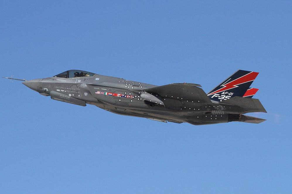 © Mark Forest • Lockheed Martin F-35A • Edwards AFB