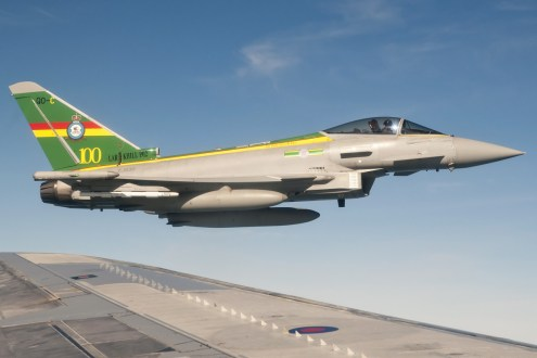 © AeroResource • Royal Air Force Eurofighter Typhoon (ZJ936) • Air to Air Refuelling Area 8
