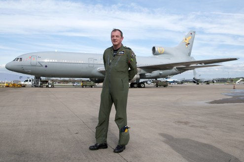 © AeroResource • Peter Morgan - 216 Squadron Wing Commander • RAF Brize Norton, Oxfordshire