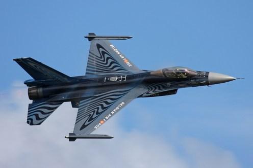 © Ben Montgomery - SABCA F-16AM Fighting Falcon • Belgian Air Force • Royal International Air Tattoo 2011
