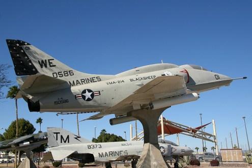 © Stu Skelton - United States Marine Corps • A-4L Skyhawk • Marine Corps Air Station Yuma, Arizona